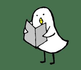 Daily life of demon-kawaii bird sticker #2065331