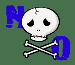 Skeleton Life sticker #2065816