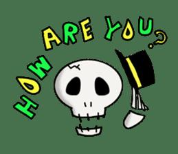 Skeleton Life sticker #2065825