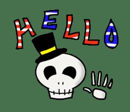 Skeleton Life sticker #2065826