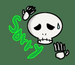 Skeleton Life sticker #2065836