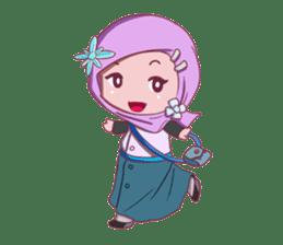 Najwa - Cute Hijaber sticker #2065973