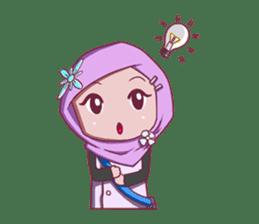 Najwa - Cute Hijaber sticker #2065979