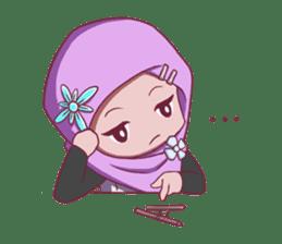 Najwa - Cute Hijaber sticker #2065982