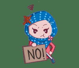 Najwa - Cute Hijaber sticker #2065985