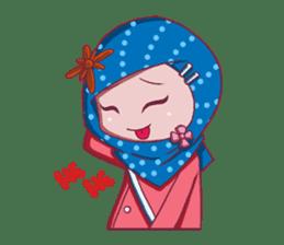 Najwa - Cute Hijaber sticker #2065988