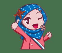 Najwa - Cute Hijaber sticker #2065989