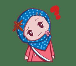 Najwa - Cute Hijaber sticker #2065991