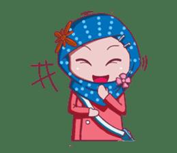 Najwa - Cute Hijaber sticker #2065992