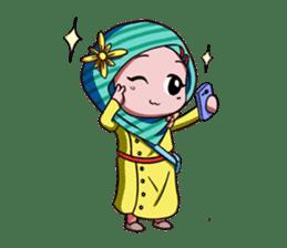 Najwa - Cute Hijaber sticker #2065999
