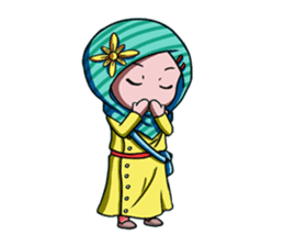 Najwa - Cute Hijaber sticker #2066002