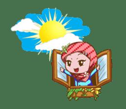 Najwa - Cute Hijaber sticker #2066003