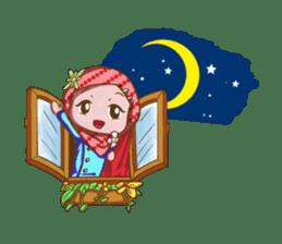 Najwa - Cute Hijaber sticker #2066004