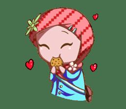 Najwa - Cute Hijaber sticker #2066005