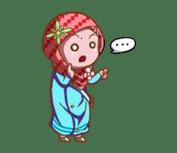 Najwa - Cute Hijaber sticker #2066010