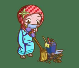 Najwa - Cute Hijaber sticker #2066011