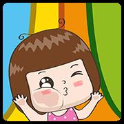 สติ๊กเกอร์ไลน์ Jingjung Pop-Ups