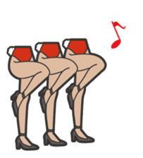 Mr.&Ms. Legs sticker #2066509
