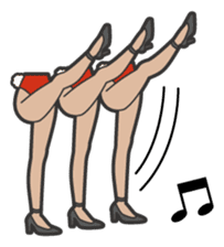 Mr.&Ms. Legs sticker #2066513