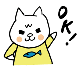 Let's tidy up ! cataso cat sticker #2066545