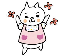 Let's tidy up ! cataso cat sticker #2066551