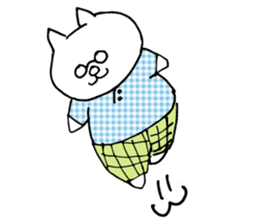 Let's tidy up ! cataso cat sticker #2066552