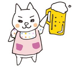 Let's tidy up ! cataso cat sticker #2066560
