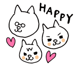 Let's tidy up ! cataso cat sticker #2066563