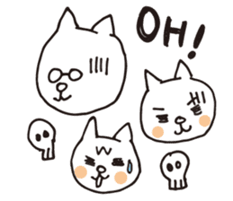 Let's tidy up ! cataso cat sticker #2066564