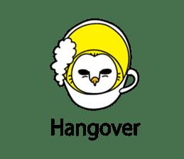 The Barn Owl of Sorrow English Version sticker #2066699
