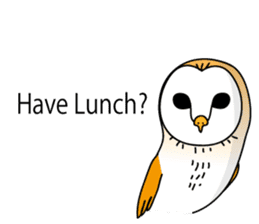 The Barn Owl of Sorrow English Version sticker #2066706