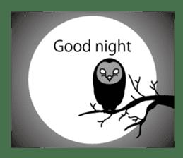 The Barn Owl of Sorrow English Version sticker #2066708