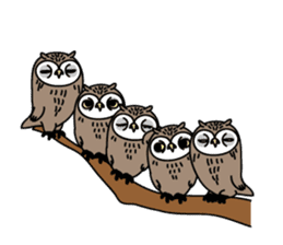 The Barn Owl of Sorrow English Version sticker #2066712