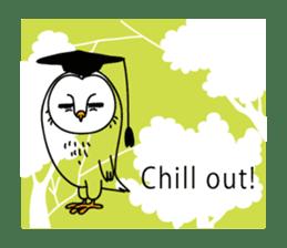 The Barn Owl of Sorrow English Version sticker #2066720