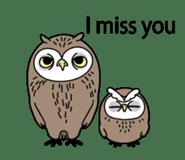 The Barn Owl of Sorrow English Version sticker #2066724