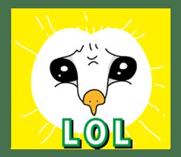 The Barn Owl of Sorrow English Version sticker #2066731