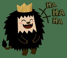 Rasta Monsters sticker #2066735