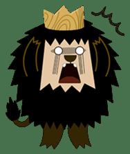 Rasta Monsters sticker #2066739