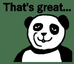 Nice Panda Guy (English Ver.) sticker #2069056