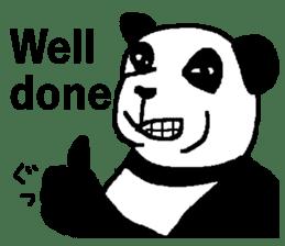 Nice Panda Guy (English Ver.) sticker #2069058