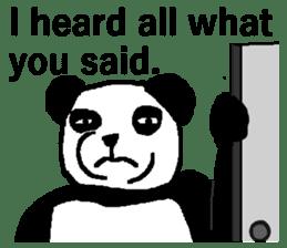 Nice Panda Guy (English Ver.) sticker #2069060