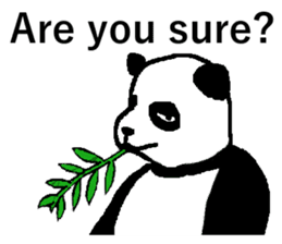 Nice Panda Guy (English Ver.) sticker #2069065