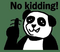 Nice Panda Guy (English Ver.) sticker #2069067