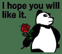 Nice Panda Guy (English Ver.) sticker #2069073