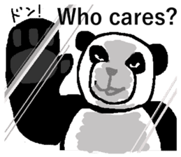 Nice Panda Guy (English Ver.) sticker #2069078