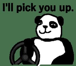 Nice Panda Guy (English Ver.) sticker #2069079