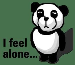 Nice Panda Guy (English Ver.) sticker #2069080