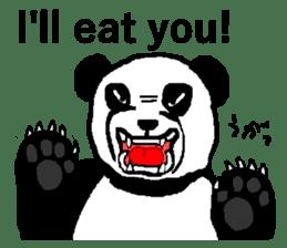 Nice Panda Guy (English Ver.) sticker #2069081