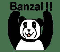 Nice Panda Guy (English Ver.) sticker #2069083