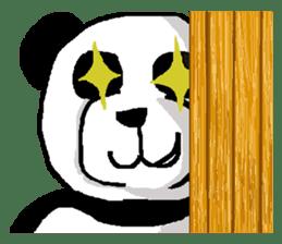Nice Panda Guy (English Ver.) sticker #2069087